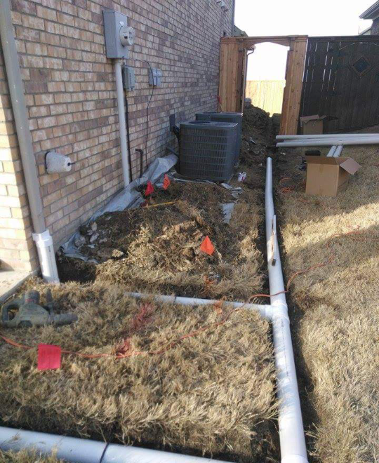3 Reasons to Install Drainage Solutions Along Your Fence