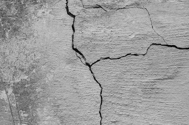Can You Just Leave Cracks on a Foundation?